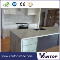 Buy cheap Vantop Quartz Countertops That Look Like Calacatta Gold Marble  from wholesalers