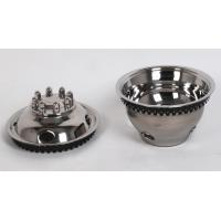 Buy cheap 71604F/R 16 inch stainless steel wheel simulator wheel hubcap from wholesalers