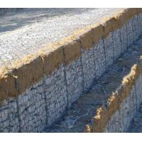 Buy cheap CE Hdpe Geonet Gabion Wire Mesh / Low Carbon Stone Cage  2.2mm  - 4.0mm Wire from wholesalers
