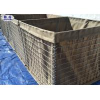 Buy cheap Geotextile Lined Military Sand Wall, Secuirty Sand Hesco Bastion Wall from wholesalers