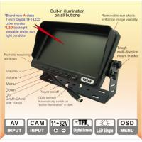 "Buy cheap The patented 7"" Digital Screen TFT LCD Reversing Monitor Display Resolution from wholesalers"
