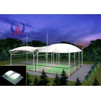 Buy cheap Badminton Gymnasium Tensile Fabric Canopy , Cable Stayed Membrane Playground Covers Canopy from Wholesalers