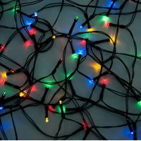 Solar Curtain String Lights : 180 LED Curtain Christmas Solar Energy Strings Lights of ec91115216