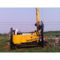 Buy cheap 400m Water Well Drilling Rig Machine With Eaton Hydraulic Motor 12T Feed Force from wholesalers