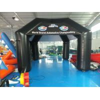 Buy cheap Black Inflatable Airtight Tent from wholesalers