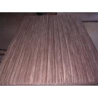 Buy cheap Tiger Strand Woven veneer 100% natural Bamboo Boards use for furniture, cabinetry from wholesalers