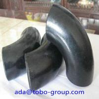 Buy cheap A234 Wpb Carbon Steel Pipe Fitting Connector LR Elbow 90 D Sch40 ANSI product