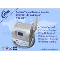 Buy cheap Permanent Laser Q Switched Nd Yag Tattoo Removal Equipment 1064nm/532nm/1320nm from wholesalers