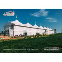 Buy cheap Waterproof and Stronger 20x50m High Peak Sport Event Tents For High End Horse Event from wholesalers