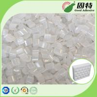 Buy cheap Yellowish EVA resin Granule solid  Packaging Hot Melt Glue Pellets , High Strength Hot Glue Block from wholesalers