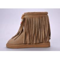 Buy cheap Fashionable Womens Winter Snow Boots , Moisture-wicking Tassel Snow Boots from wholesalers