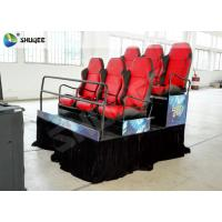 Buy cheap Large Screen 7D Movie Theater With Genuine Leather , Mini Home Theater System product