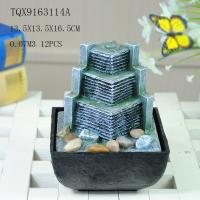 Buy cheap Small Artificial Hill Polyresin Water Fountain For Indoor Desk Decoration from wholesalers