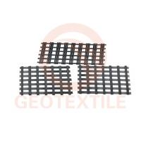 Buy cheap Subgrade Biaxial Integral Geogrid High Strength Black Color 100m Length product