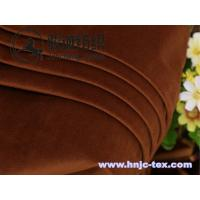 Buy cheap Exquisite and soft handle velvet for apparel fabric with various color from wholesalers