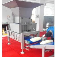 Buy cheap SEW Motor Pastry Dough Sheeting Machine With Auto Dough Block Cutting Hopper from wholesalers