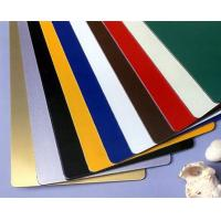 Buy cheap ISO/SGS Certificate 3mm Interior Wall Cladding Aluminum Composite Panel/ACP/Alucobond from wholesalers