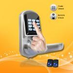 Buy cheap Elegant Design Pass Code Door Locks , Remote Control Front Door Lock 154*68*78mm from wholesalers