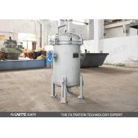 Buy cheap High Capacity Multi-Bag Filters Housing for Liquid Filtration from wholesalers