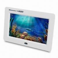 Buy cheap Digital Photo Frame with Picture and Video Zoom, Supports USB Flash Disk product