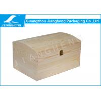 Buy cheap Customized Original Colour Wooden Gift Box No Printing For Keepsake Packaging from wholesalers