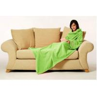 Buy cheap Coral Fleece Blanket With Sleeve , Soft Home Coral Blanket 150X200CM from wholesalers