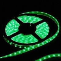 Buy cheap Green Flexible LED Strip with IP65 Waterproof, 3528 SMD Light Source and 2-year product
