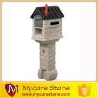 Buy cheap Garden sculpture crafts stone lovely post box on sale from wholesalers