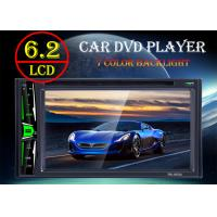Buy cheap TFT Led Screen Car Double Din Dvd Player With Bluetooth And Fm Radio from wholesalers