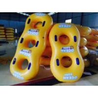 Buy cheap PVC Double Baby Swim Seat , Adults Swimming Pool Toys Play On Water from wholesalers