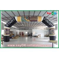Buy cheap Huge Advertising Inflatable Arch , Oxford Cloth Inflatable Finishing Line Arch from wholesalers
