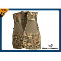 Buy cheap Camoflauge Mesh / Nylon Hunting Dove Vest Hunting Waistcoat Water Resistant from wholesalers