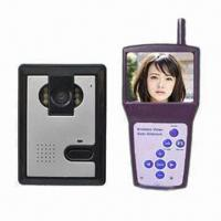 Buy cheap 2.4G 3.5-inch Wireless Video Doorbell, Easy to Install, Built-in Dipole Antenna from wholesalers