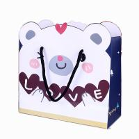 Buy cheap OEM cheap storage toy paper shopping bag custom printing China factory product