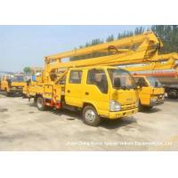 Buy cheap ISUZU 16m Truck Mounted Articulated Aerial Work Platforms High Performance from wholesalers