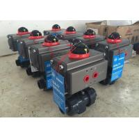 Buy cheap Pneumatic PVC Ball Valve With Actuator from wholesalers