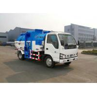 Buy cheap 4.3m3 Sealed unload / push unload Container Food waste collection Vehicles / trucks XZJ5070TCA from wholesalers