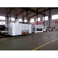 Buy cheap Professional Flexo Corrugated Machine Gluing Bunlding Line PLC Control System from wholesalers