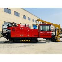 Quality 600KN Horizontal Directional Drilling Machine Large Torsion ISO9001 for sale