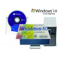 Buy cheap Windows 10 Brand New Home OEM Pack , Optional Language Computer 100% Original from wholesalers