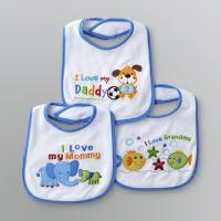 Buy cheap OEM Plain Dyed Newborn Baby Products , Custom Cotton / Polyester Baby Bibs from wholesalers