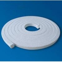 Buy cheap White Low Friction Pure PTFE Packing glands Self lubricant For Valve stems from wholesalers
