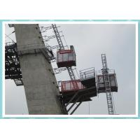 Buy cheap Single Cabin Constrution Man and Material Hoist Building Elevator from Wholesalers