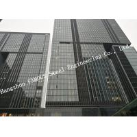Buy cheap Double Glazed Layer Glass Facade Curtain Walling Multi Storey Steel Building For Business Mall from wholesalers