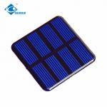 Buy cheap 0.3W polycristalline solar panel for solar power car toy ZW-5050 ROHS solar panel 2V from wholesalers