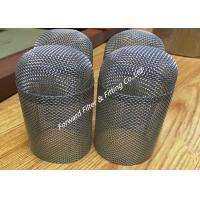Buy cheap Metal Wire Mesh Tube , Metal Mesh Tube For Making Screen Defoaming Device / Oil Gas Separator from wholesalers