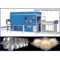 Buy cheap PET Plastic sheet Egg Containers Vacuum Thermoforming Machine , big forming area from wholesalers