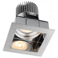 Buy cheap 7W 10W Square Size 80*80*89mm Aluminum Dimmable LED Downlights for Hotel from wholesalers