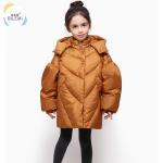 Buy cheap Winter Goose Girls Infant Vest Kids Packable Jacket Children's Down Coats Girls Parka from wholesalers