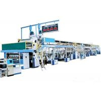 Buy cheap 60M Long Corrugated Cardboard Production Line , 3 Ply Corrugated Box Making Machine from wholesalers